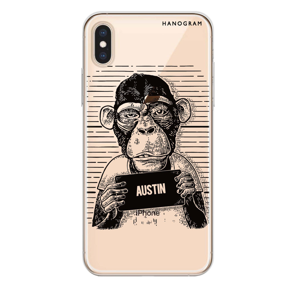 Criminal iPhone XS Max Soft Clear Case