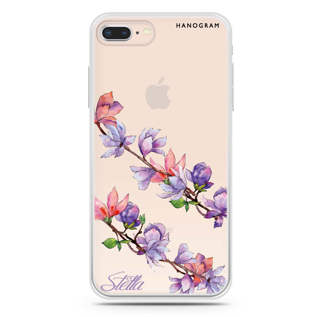 My Colour in Spring iPhone 8 Soft Clear Case