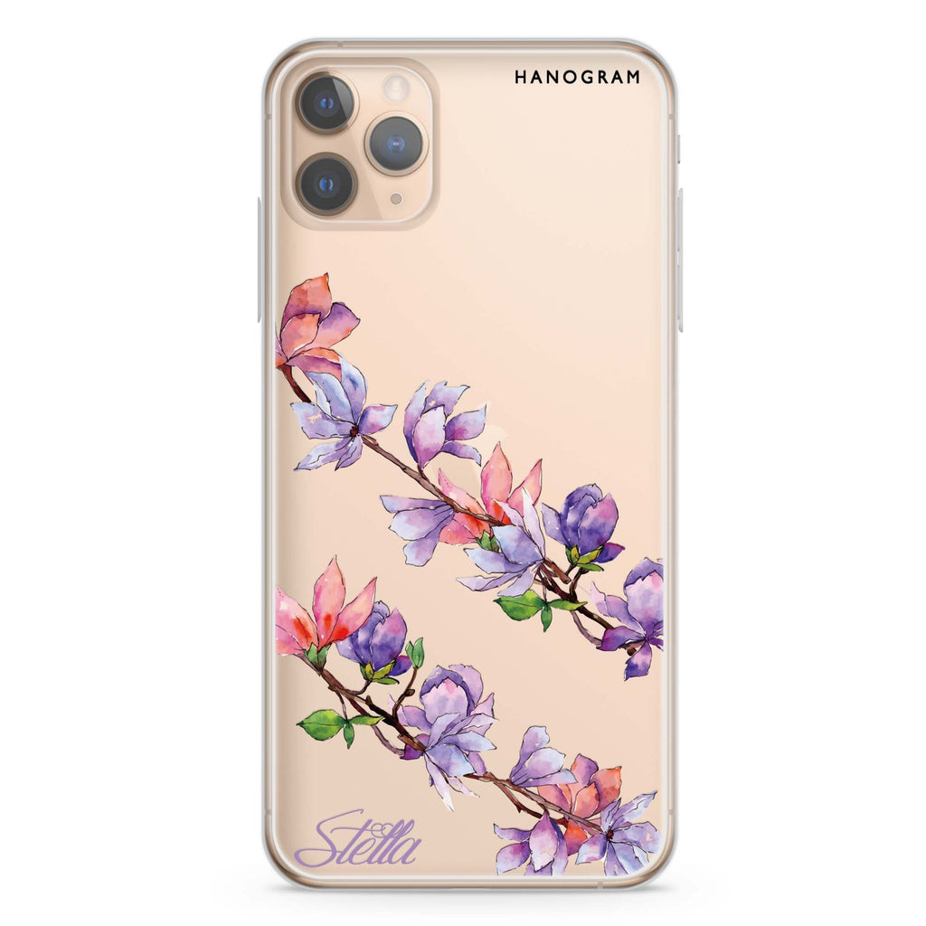 My Colour in Spring iPhone 11 Pro Max Soft Clear Case
