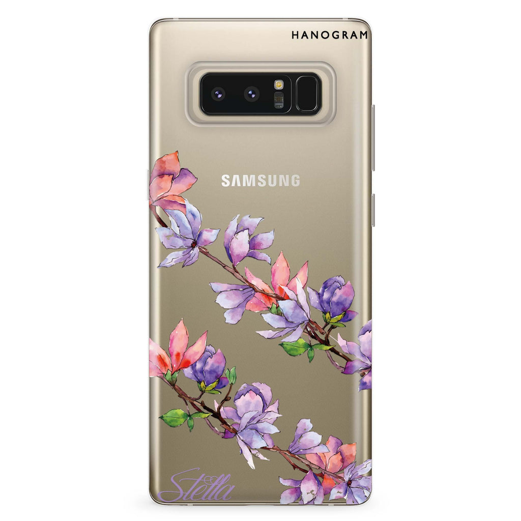 My Colour in Spring Samsung Note 8 Soft Clear Case
