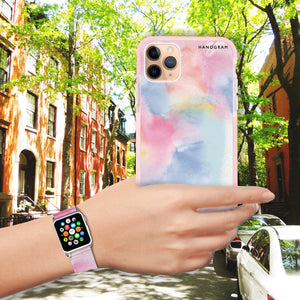 Magic Watercolour - Frosted Bumper Case and Watch Band