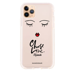 Choose Love iPhone 11 Pro Max Frosted Bumper Case