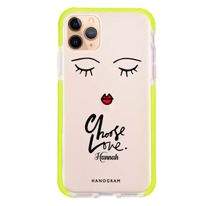 Choose Love iPhone 11 Pro Max Shockproof Bumper Case