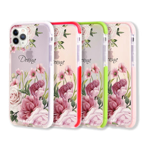 Beautiful Flowers Frosted Bumper Case