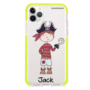 Little Pirate Boy Frosted Bumper Case