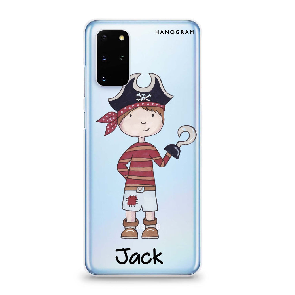 Little Pirate Boy Samsung S20 Soft Clear Case