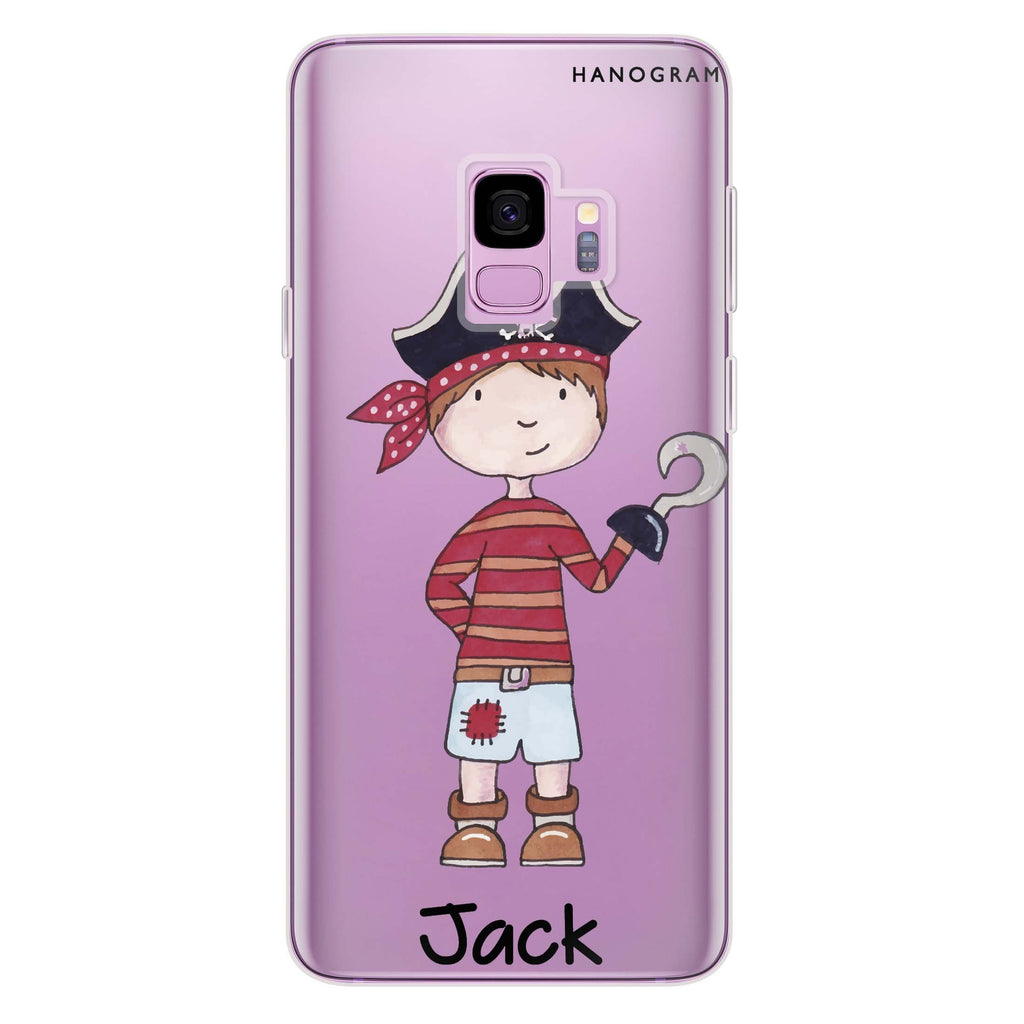 Little Pirate Boy Samsung S9 Soft Clear Case