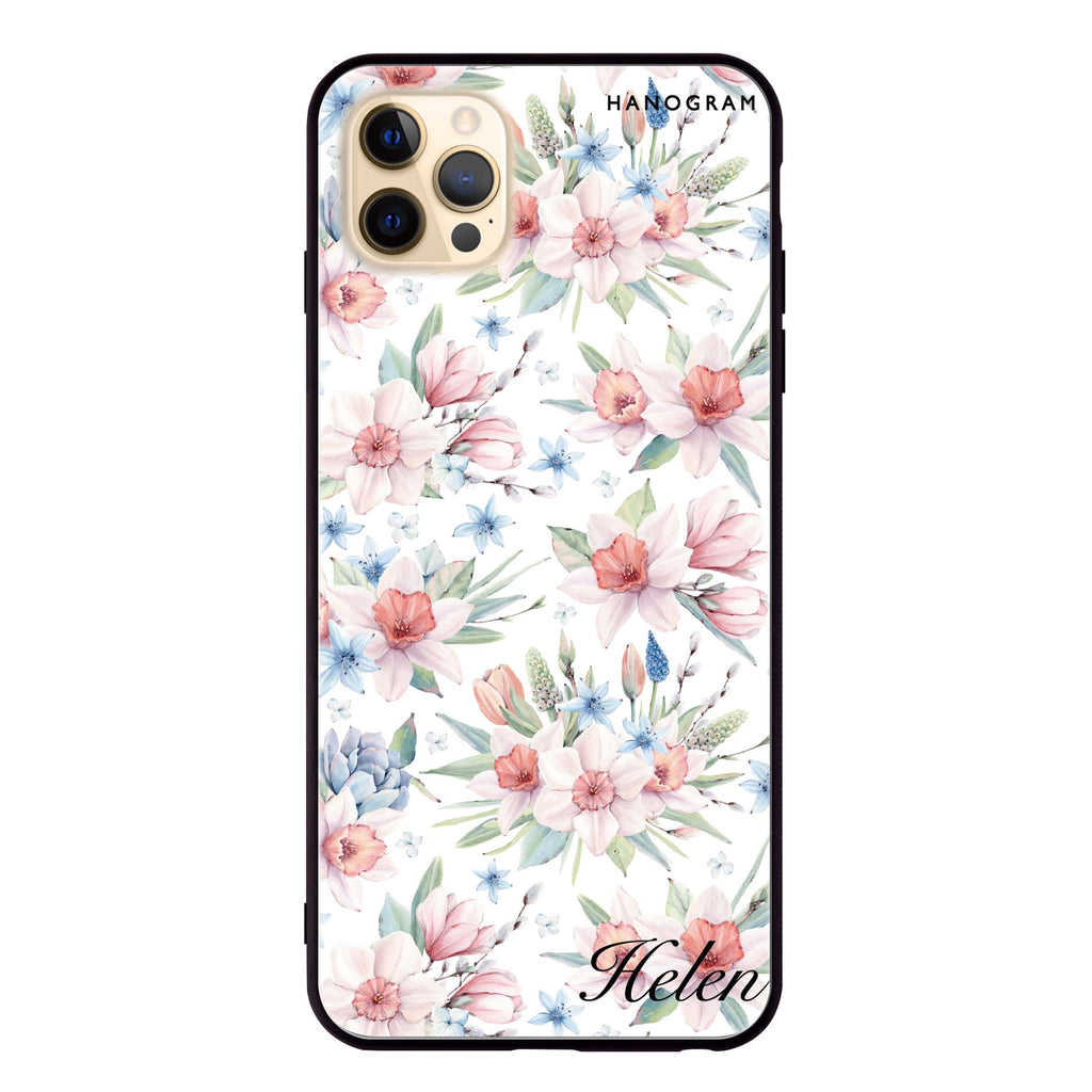 Glamour Floral World Glass Case