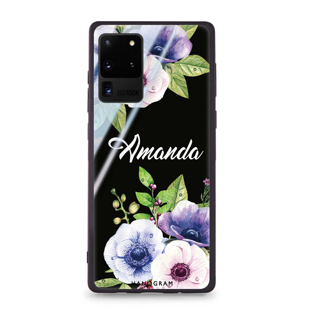Blooming Flowers Samsung S20 Ultra Glass Case
