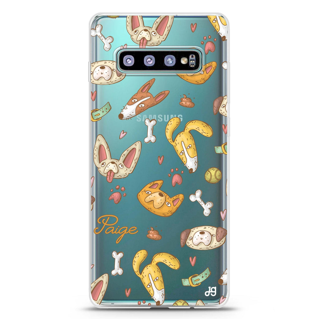 BOW BOW Samsung S10 Plus Soft Clear Case