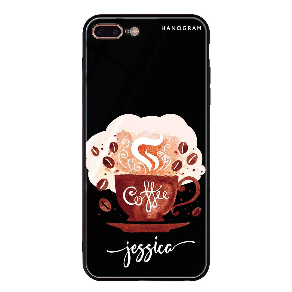 Fragrant coffee iPhone 8 Plus Glass Case