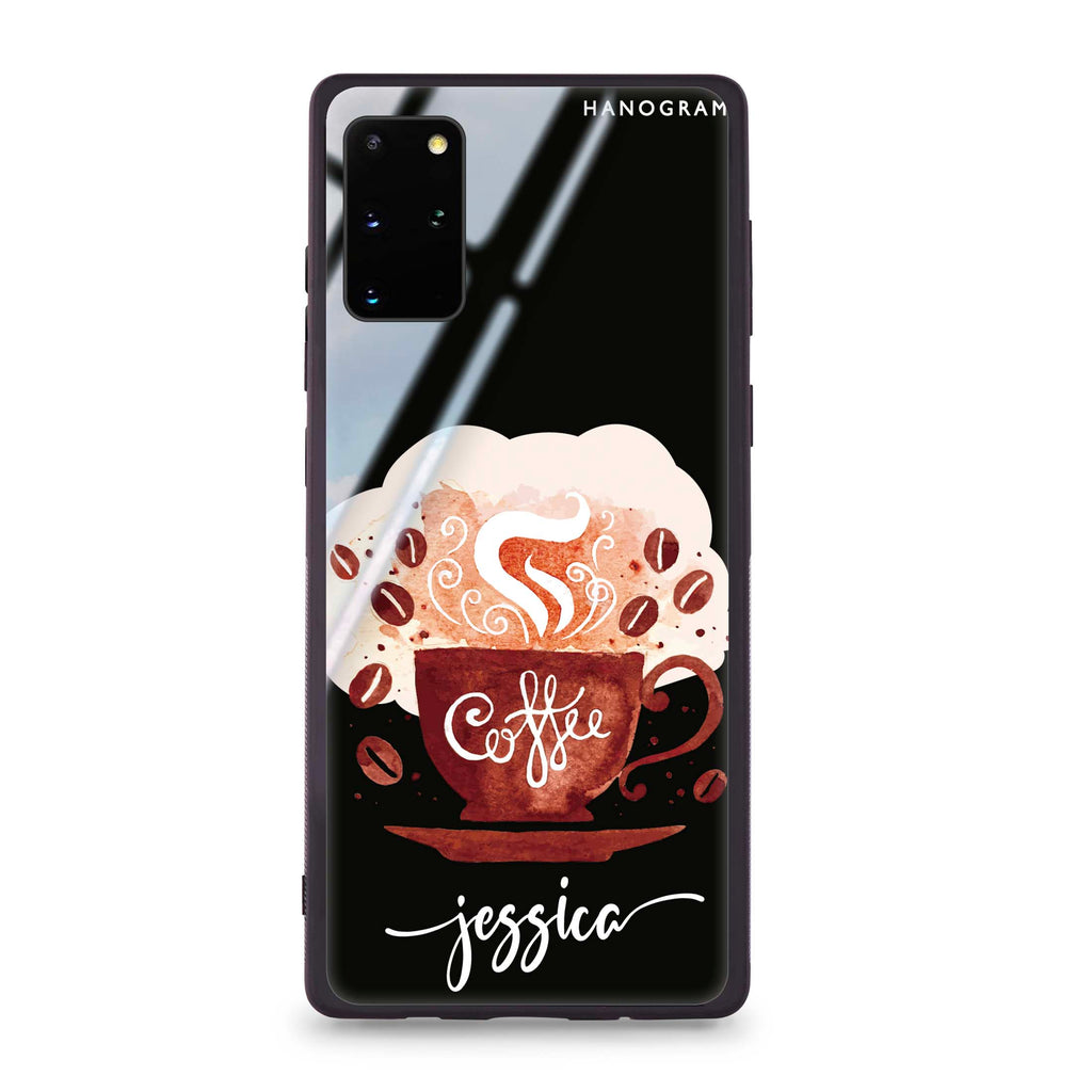 Fragrant coffee Samsung S20 Plus Glass Case