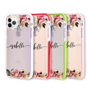 Art of Classic Floral Frosted Bumper Case