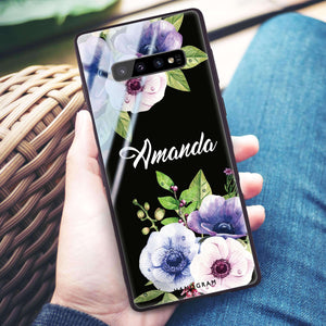Blooming Flowers Samsung S10 Plus Glass Case