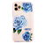 Blue Rose Frosted Bumper Case