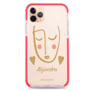 Lovely Face II iPhone 11 Pro Max Frosted Bumper Case