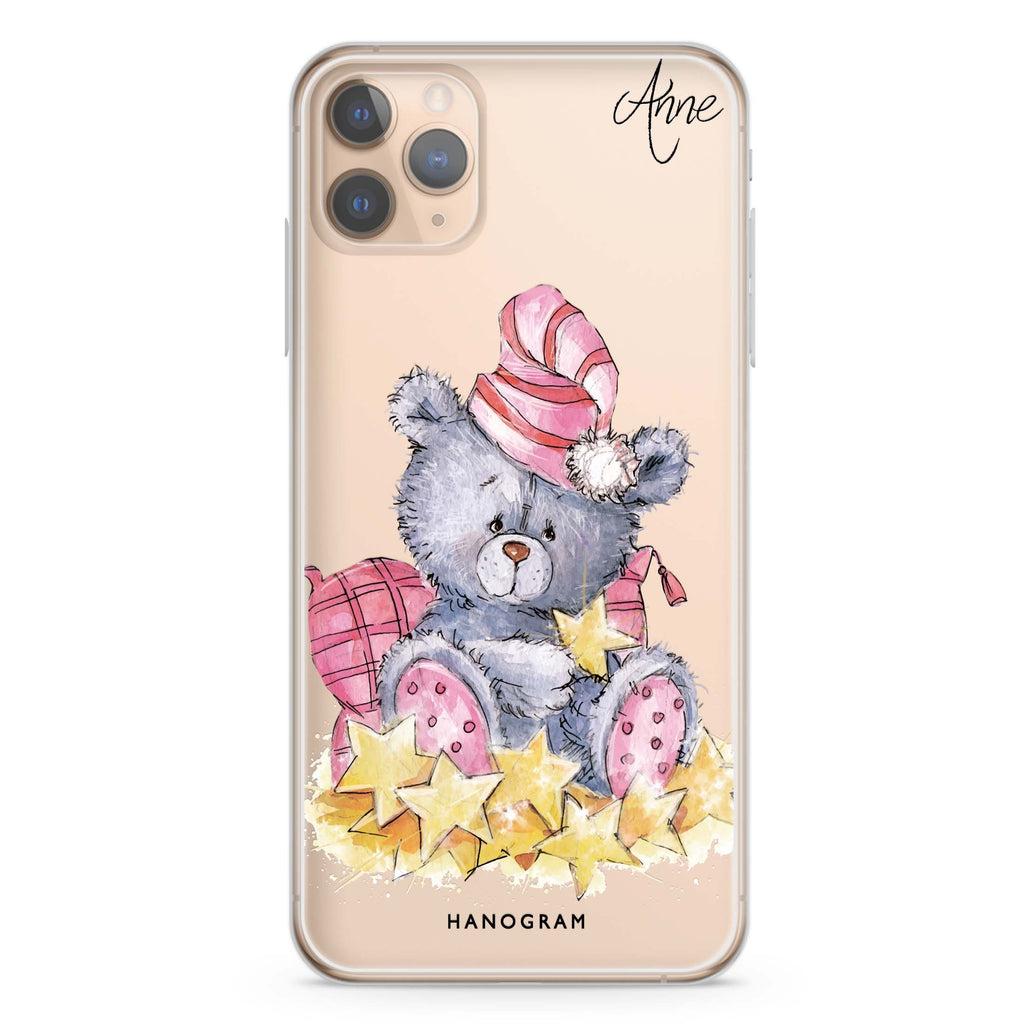 Star Bear iPhone 11 Pro Max Soft Clear Case