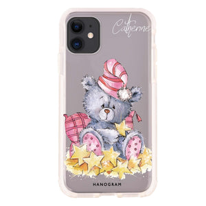 Rabbit And Flowers - Custom iPhone X Nova Case