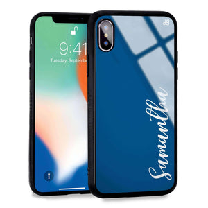 Falling For You Princess Blue Glass Case