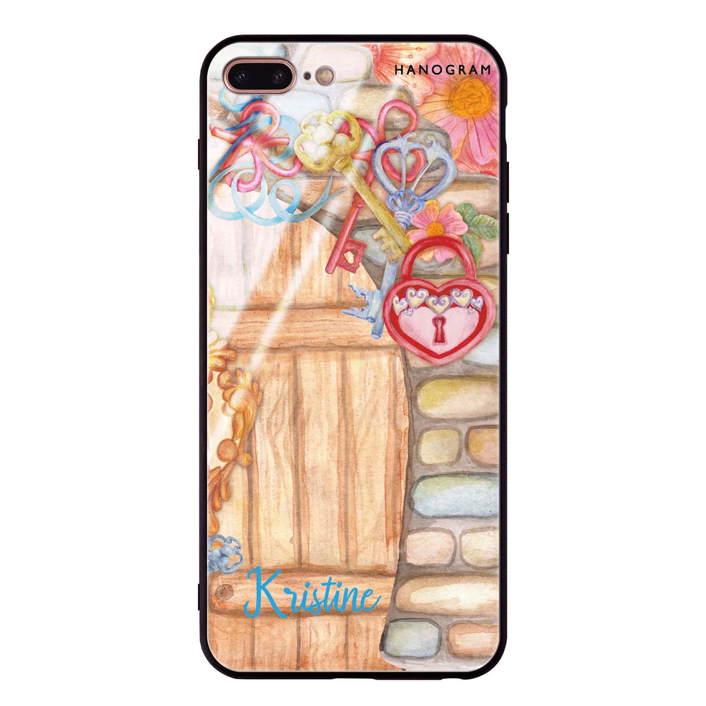 Love Castle II iPhone 8 Plus Glass Case