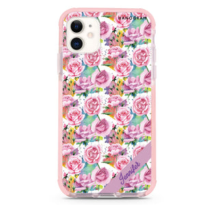 Tropical Floral II iPhone X Case
