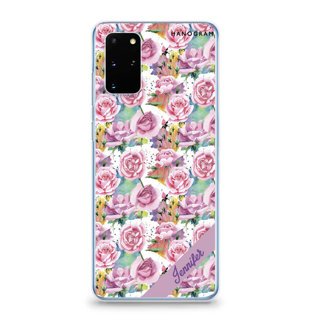 Colorful Rose Samsung S20 Soft Clear Case
