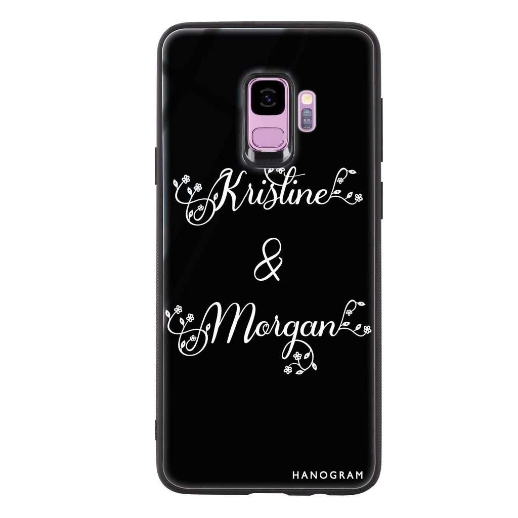 Natural & Us Samsung S9 Glass Case