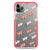 Double Heart Shockproof Bumper Case