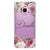 Light Pink Floral Samsung S9 Soft Clear Case