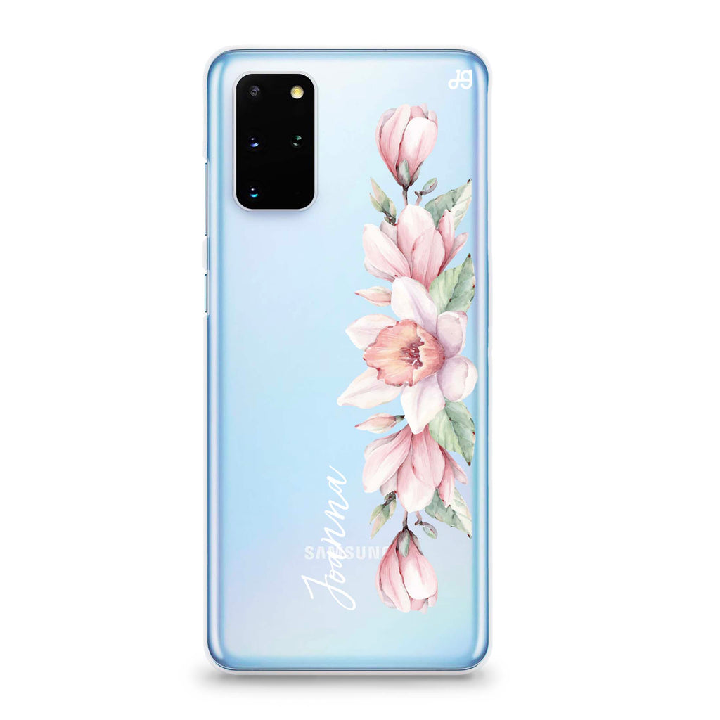 Floral and Me Samsung S20 Plus Soft Clear Case
