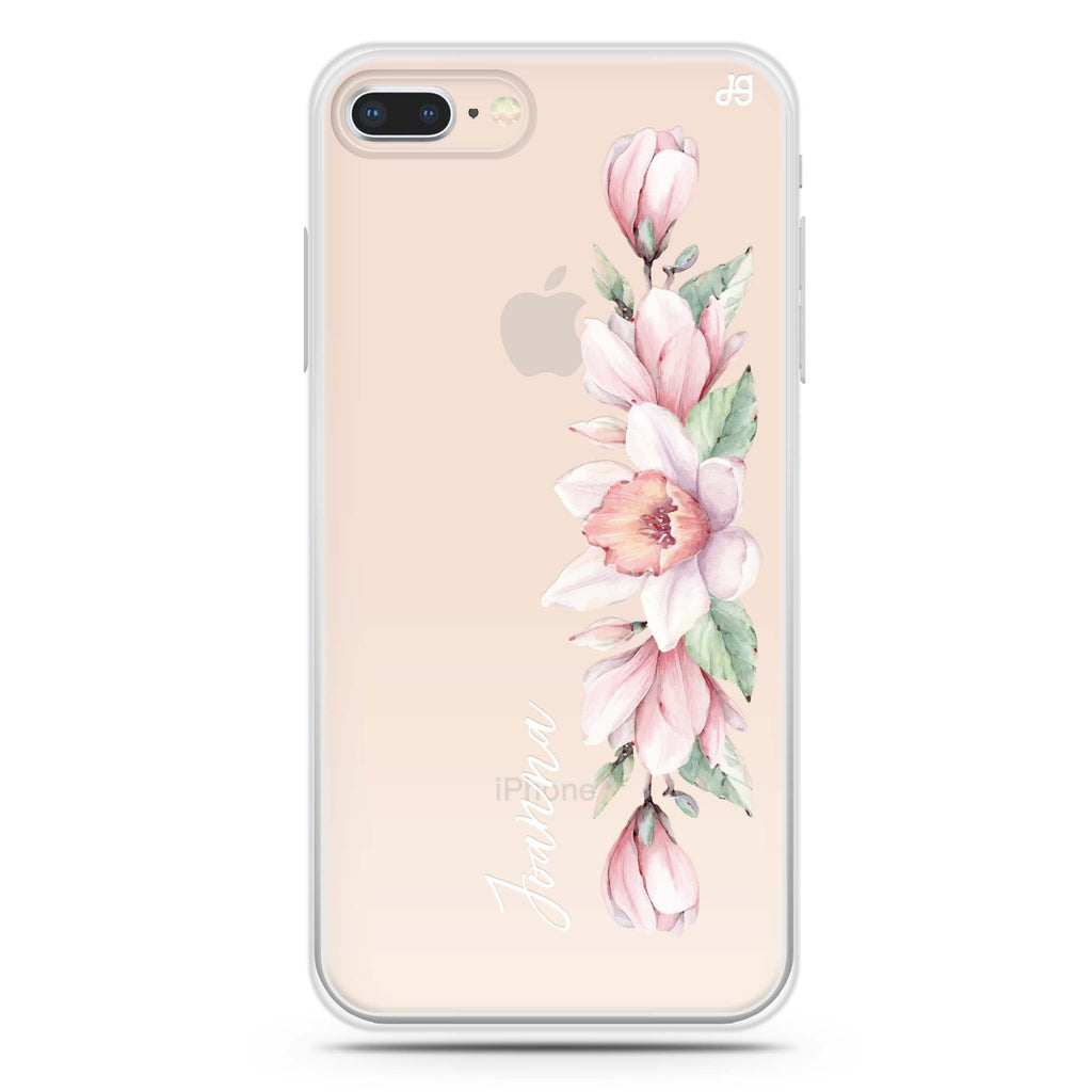 Floral and Me iPhone 7 Plus Soft Clear Case