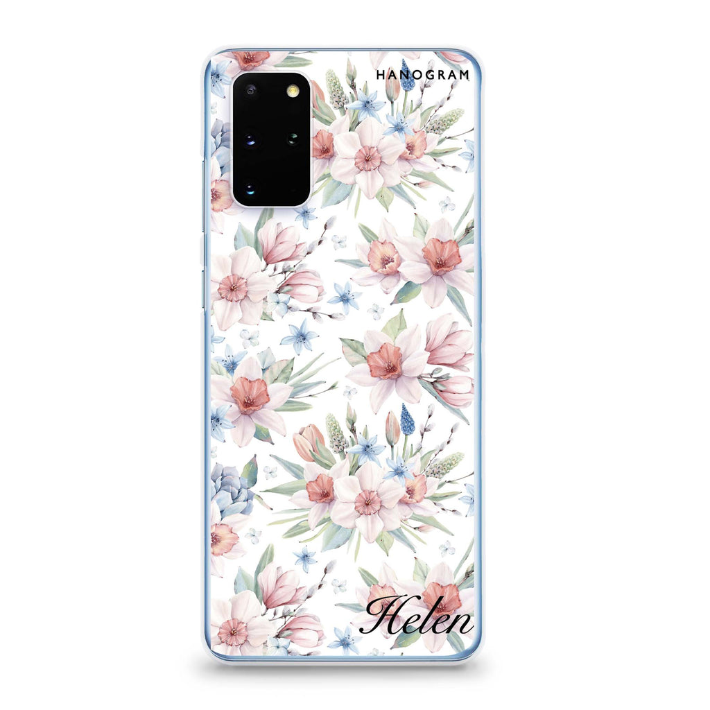 Glamour Floral World Samsung S20 Soft Clear Case