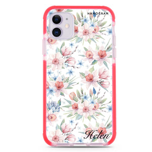 Curly Flowers Custom Samsung S8 Plus Case