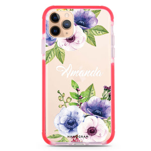 Blooming Flowers iPhone 11 Pro Max Frosted Bumper Case