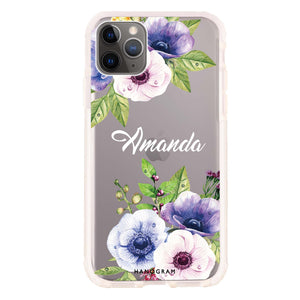 Blooming Flowers Shockproof Bumper Case
