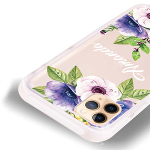 Blooming Flowers Frosted Bumper Case