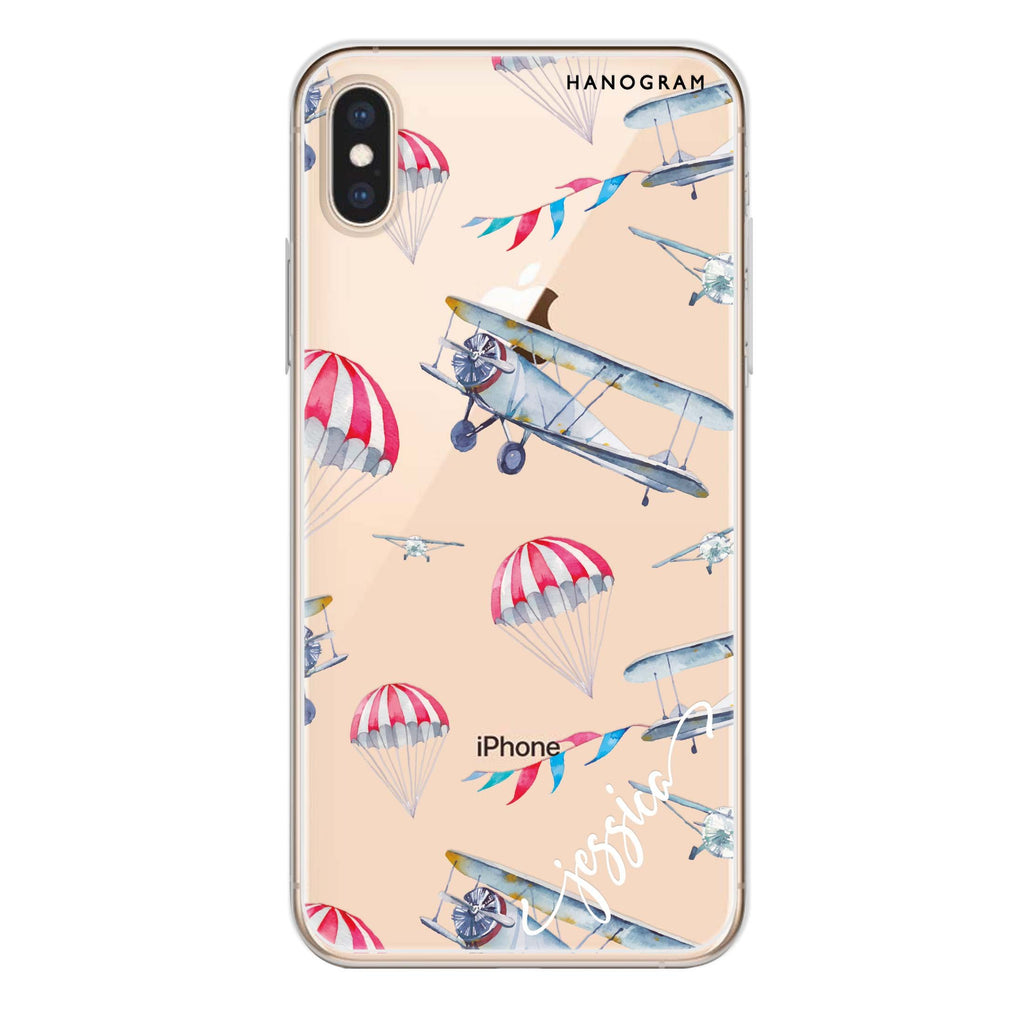 Propeller iPhone XS Soft Clear Case