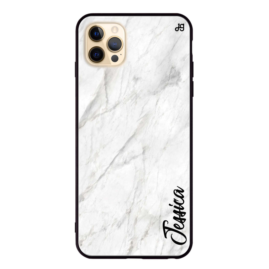 White Marble – Deep Love Glass Case