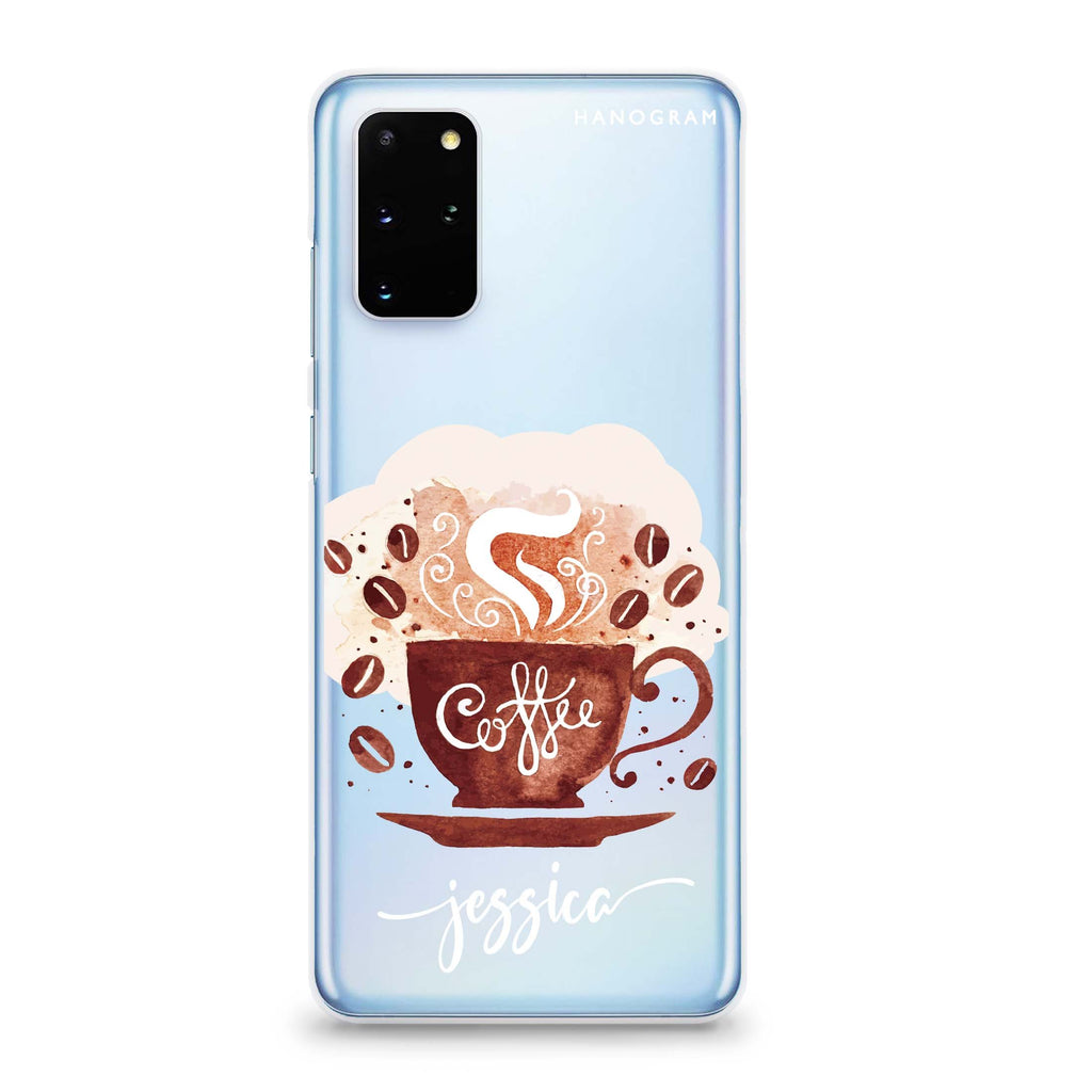 Fragrant coffee Samsung S20 Soft Clear Case