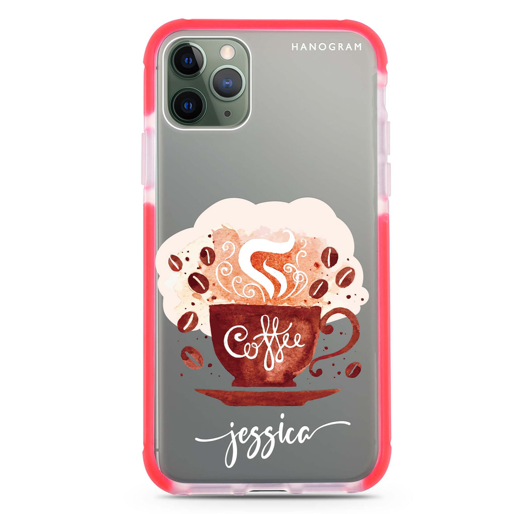 Fragrant coffee Shockproof Bumper Case