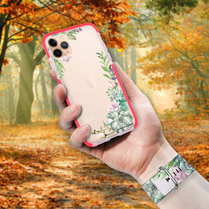 Rose in Wild - Frosted Bumper Case and Watch Band