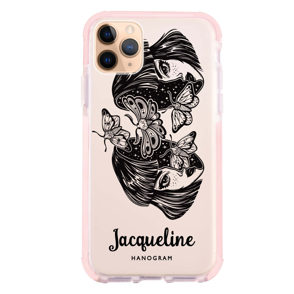 Artistic Face Shockproof Bumper Case