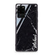 Black Marble – Deep Love Samsung Glass Case