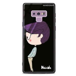 Boy kissing Samsung Note 9 Glass Case