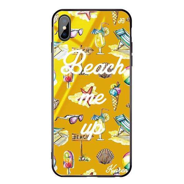 Beach me up Mango Mojito Glass Case