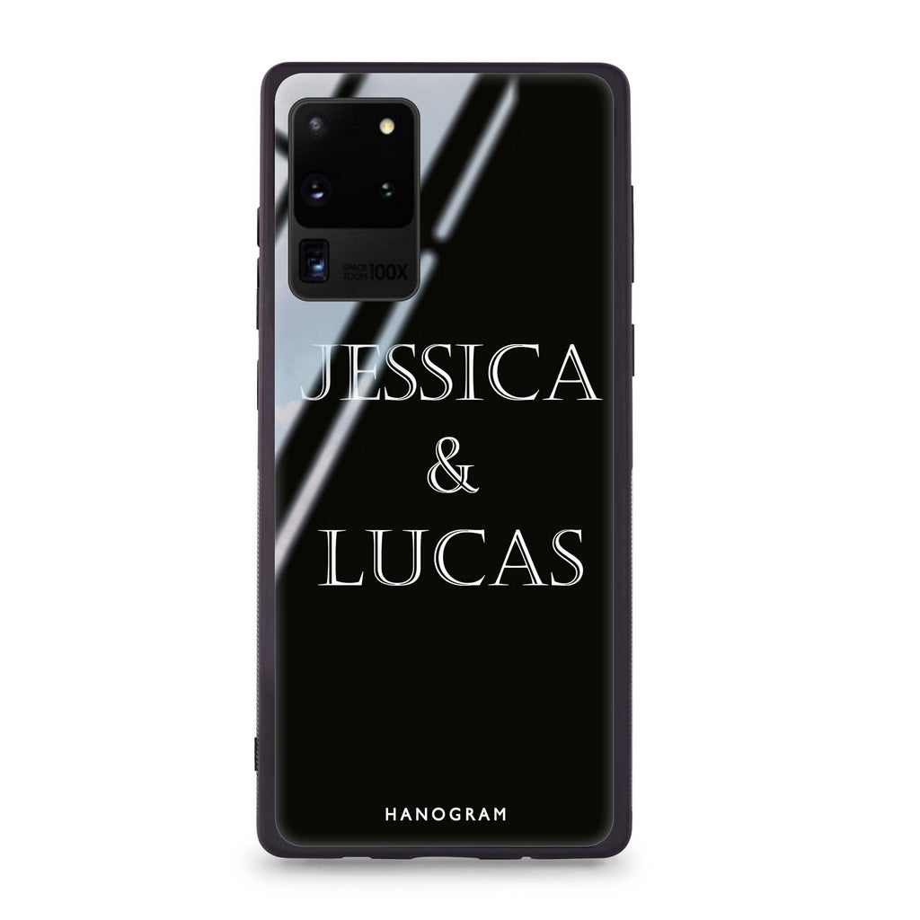 Gorgeous love Samsung Glass Case