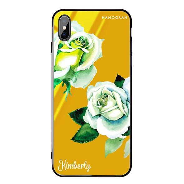 White Rose Mango Mojito Glass Case