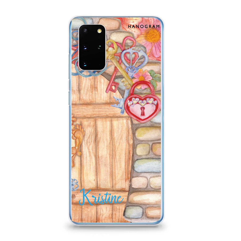Love Castle II Samsung S20 Plus Soft Clear Case
