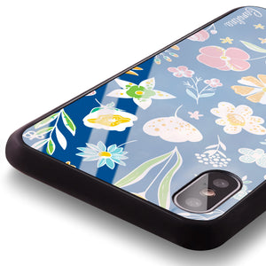 Spring Moment Princess Blue Glass Case