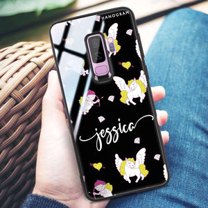 Angel & Unicorn Samsung S9 Plus Glass Case